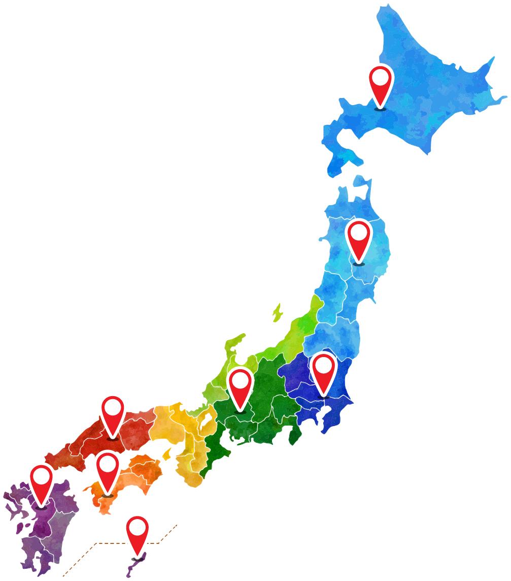 販売店舗地図